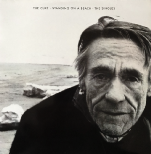 Cure ‎(The) - Standing On A Beach:  The Singles (LP) (VG-/VG)
